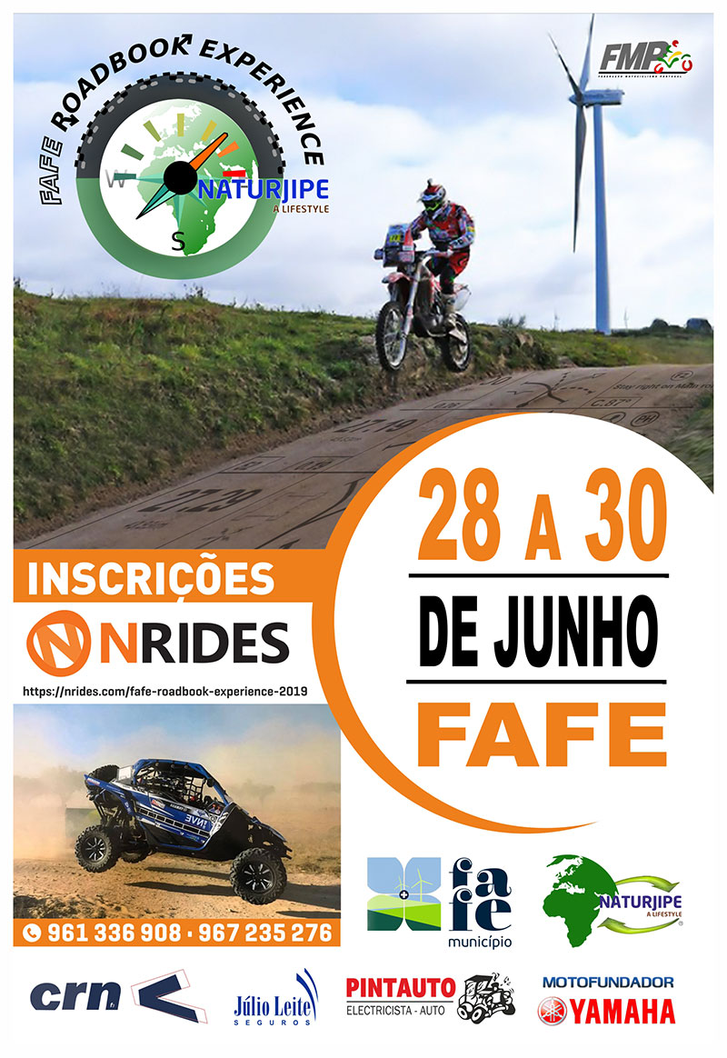 Fafe Roadbook Experience 2019