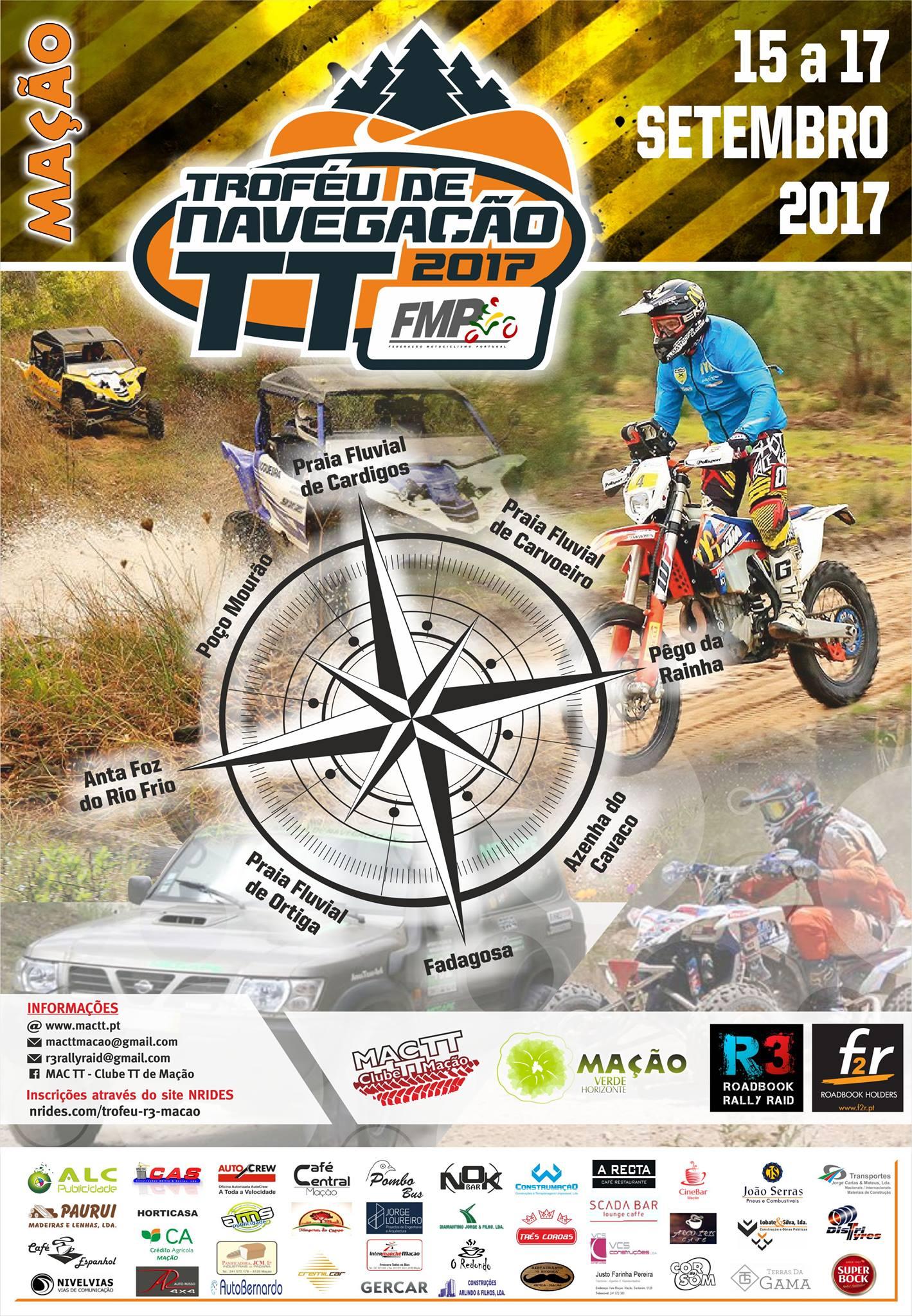 Troféu de Navegação FMP - R3 Mação 2017 - Cartaz